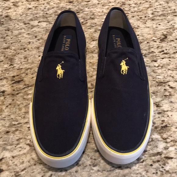 Mens Polo Sneaker Slip On